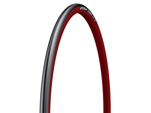 Michelin Dynamic Sport Fahrradreifen 23-622 Draht rot